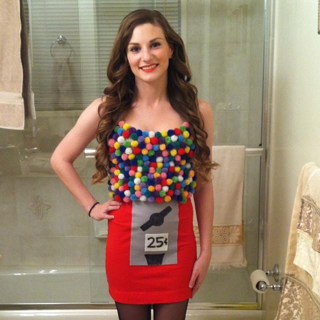 Gumball Machine Halloween Costume | Life Unsweeten