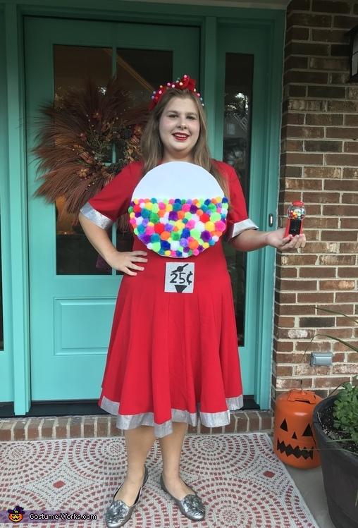 Gumball Machine Women's Halloween Costu