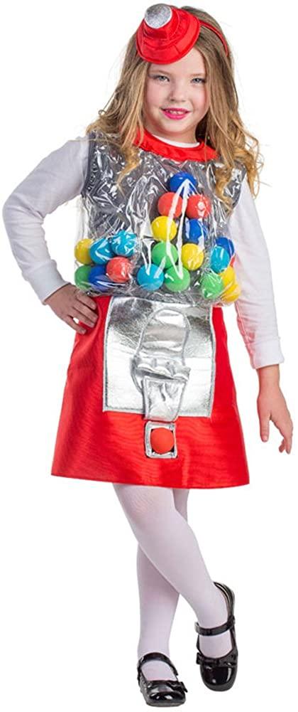 Amazon.com: Dress Up America Gumball Machine Costume – Candy Girl .