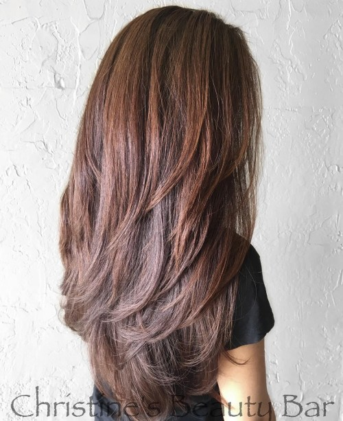 80 Cute Layered Hairstyles and Cuts for Long Hair in 20