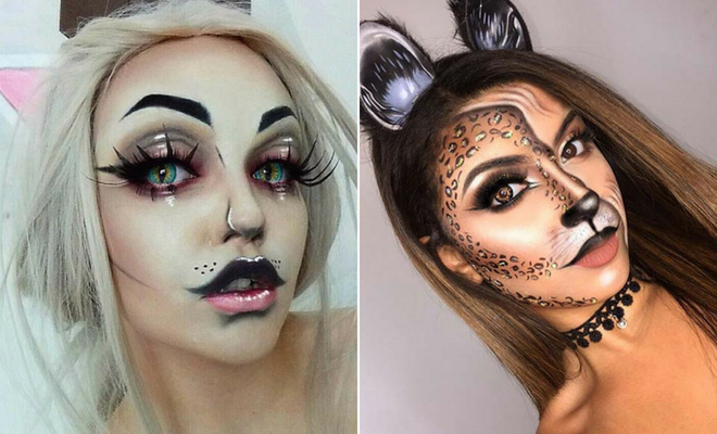 41 Easy Cat Makeup Ideas for Halloween | StayGl
