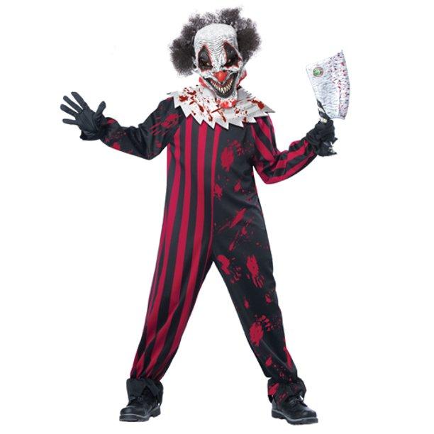 Kids Killer Klown Boys Horror Halloween Costume - Walmart.com .