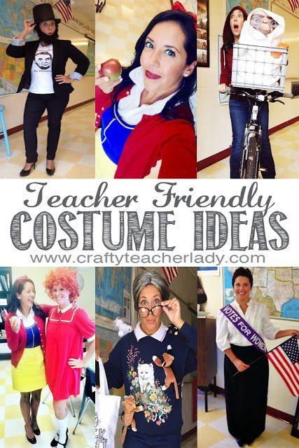 Teacher Friendly Halloween Costume Ideas | Teacher halloween .