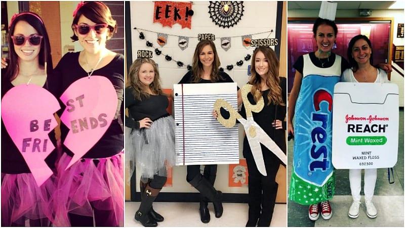 31 Best Teacher Halloween Costumes for Groups & Partne