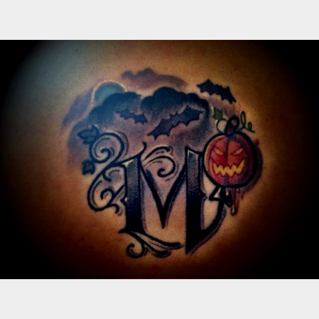My newest tattoo :))) cant wait to add more!!! #Halloween tattoo .