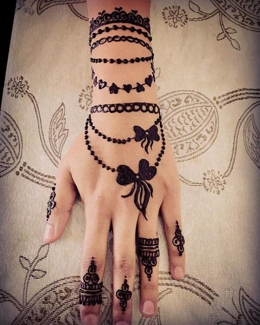 Latest Henna Tattoo Designs - Try on Eid 2019 - Henna Designs .