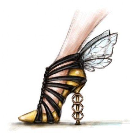 60 ideas drawing fashion design high heels | Shoe design sketches .