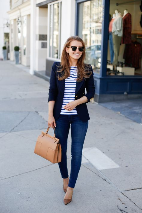 TWO INVESTMENT PIECES I SCORED ON SALE | Blazer outfits for women .