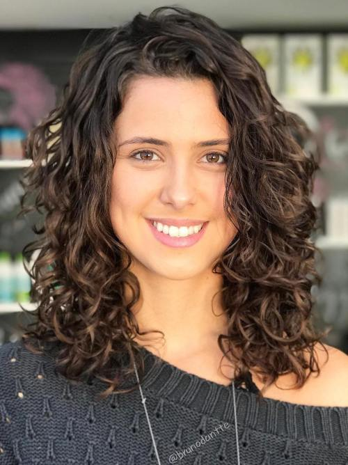 60 Styles and Cuts for Naturally Curly Hair in 20
