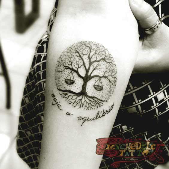 Best libra tattoos   Libra tattoo, Circle tattoos, Tattoo desig