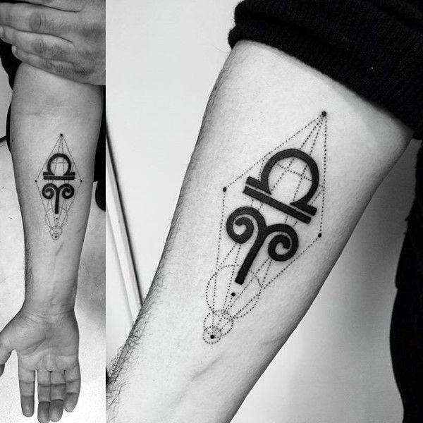 Top 57 Libra Tattoo Ideas [2020 Inspiration Guide]   Aries tattoo .