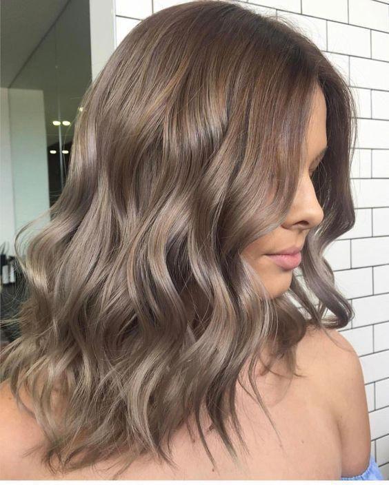 Pretty Light Brown Hair Looks - Women Hair Color Ideas .