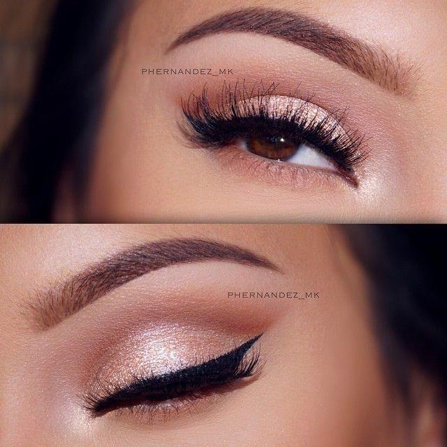 thebeautydatabase | Gold makeup looks, Pink makeup, Rose gold .