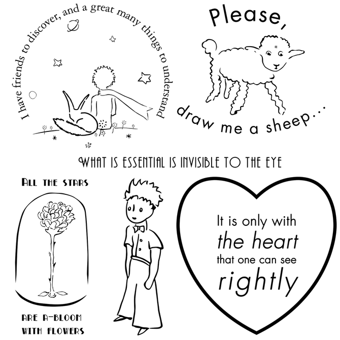 The Little Prince   Prince tattoos, Little prince quotes, Little .