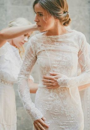 These Long Sleeve wedding dresses are totally loveable   Summer .