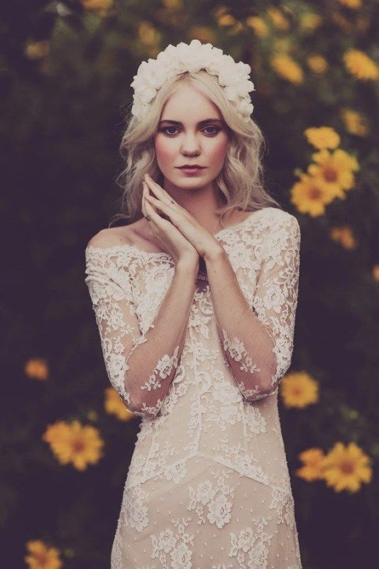 These Long Sleeve wedding dresses are totally loveable     Sheer .