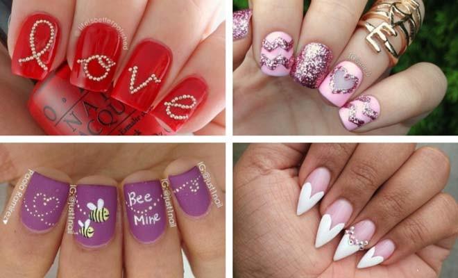 30 Lovely Valentine's Day Nails | StayGl