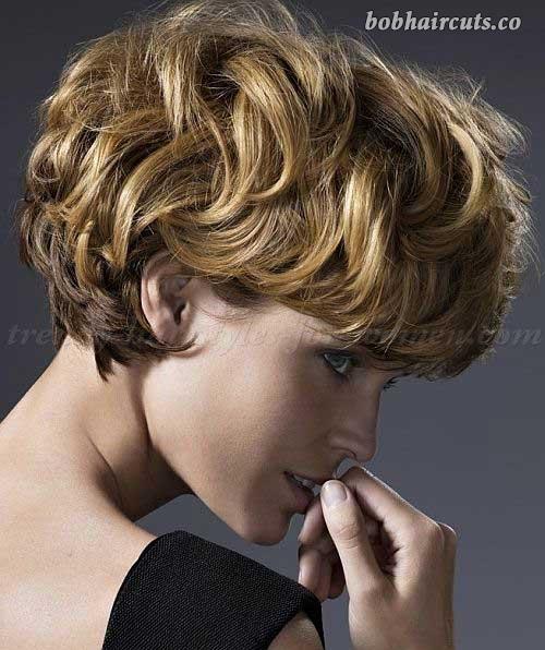 20 Low-Maintenance Short Textured Haircuts #BobHaircuts   헤어 .