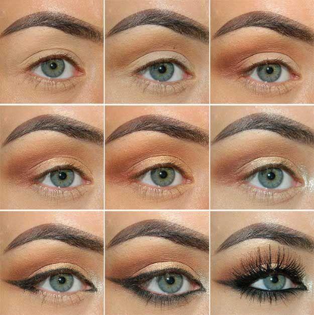 34 Matte Makeup Tutorials - The Goddess | Fall makeup, Fall makeup .