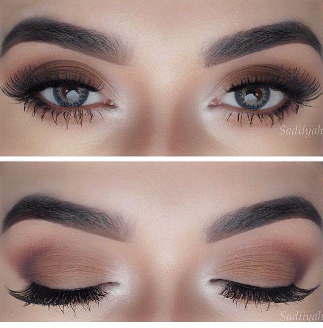 Make up Brown Matte. Makeup casual, social. | Maquillaje de ojos .