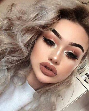 Matte Makeup Ideas – Fashioncold | Matte makeup, Eye makeup, Hair .