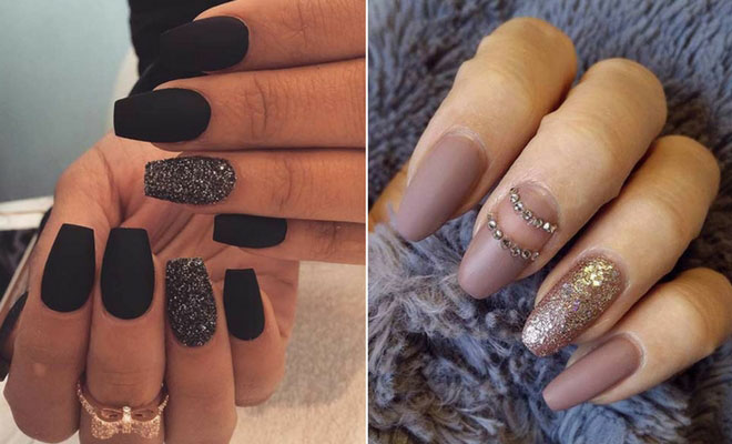 45 Cool Matte Nail Designs to Copy in 2019   StayGl
