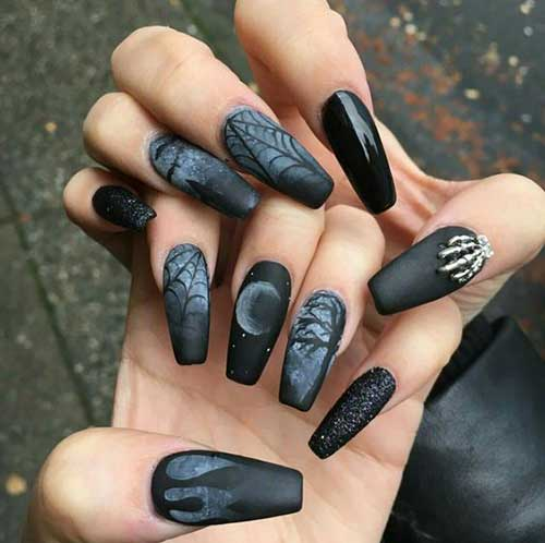 Great Designs with Matte Nail Poli