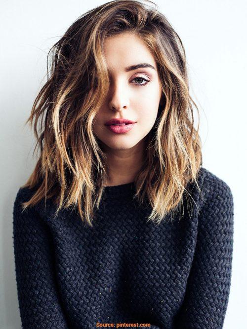 100 Cute & Easy Hairstyles for Shoulder Length Ha