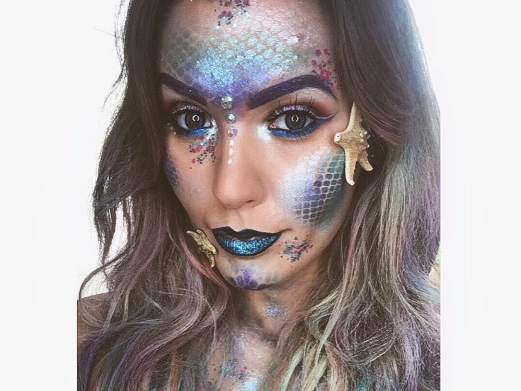17 Best Mermaid Makeup Ideas and Tips for Halloween 2020 | Glamo