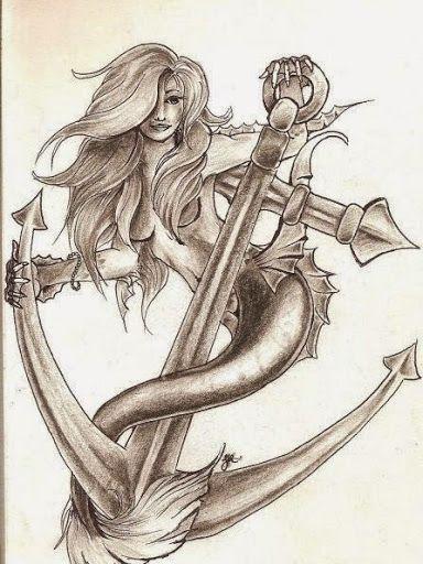 50 Beautiful and Cute Mermaid Tattoos Designs and Ideas | Mermaid .