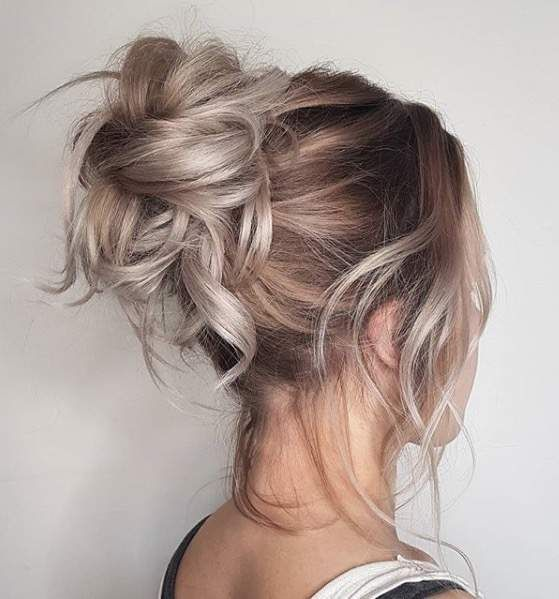 The best products, tips, and tricks for styling a messy bun .