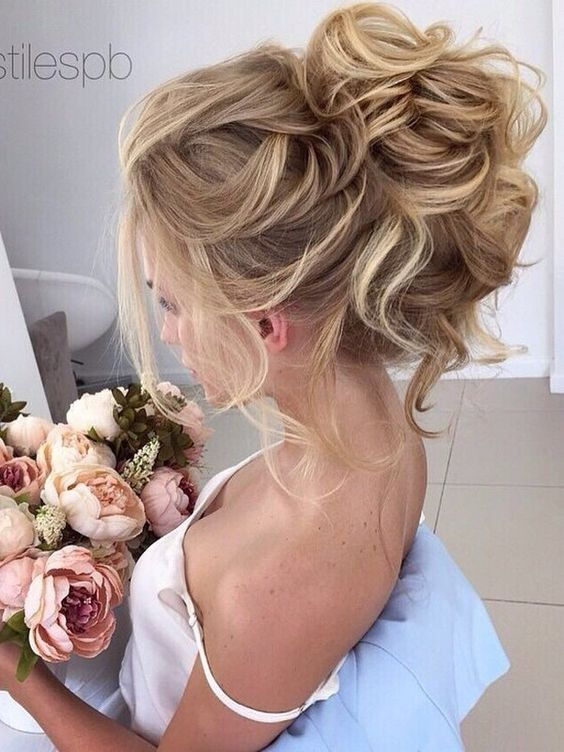 Messy Updo Hairstyles for Bridal - Wedding Hair Styles | Messy .