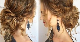 10 Pretty Messy Updos for Long Hair: Updo Hairstyles 2020 | Medium .