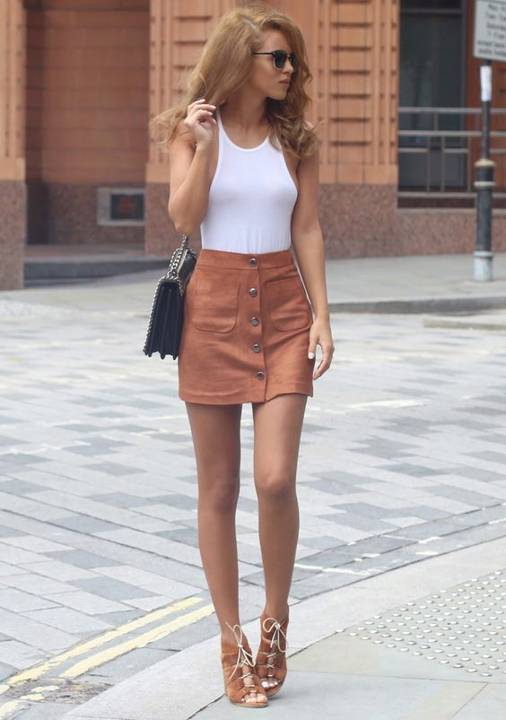 short skirt outfit ideas > Factory Sto
