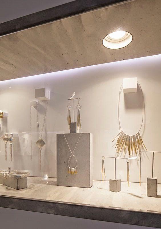 Modern Minimalist Jewelry Display Ideas | Minimalist jewelry .