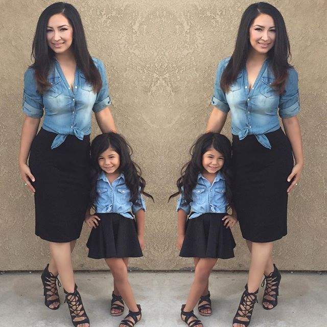 Mommy And Me Outfits – geldeizleme.com in 2020   Mom daughter .