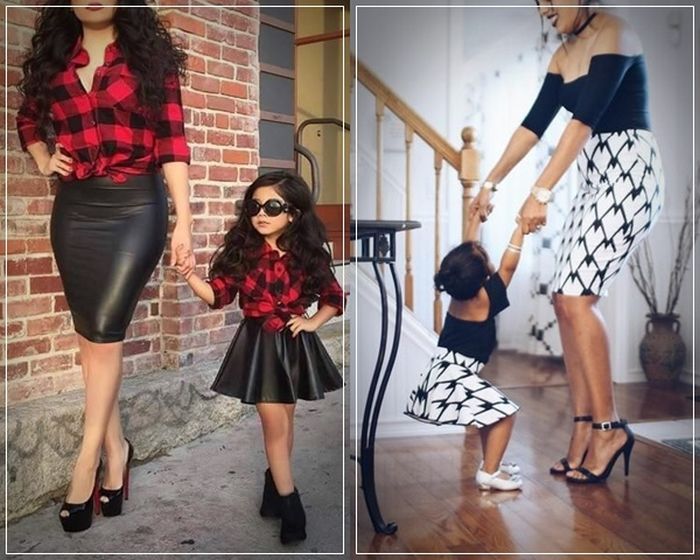 Like Mother, Like Daughter: Matching Outfit Ideas for the Season .