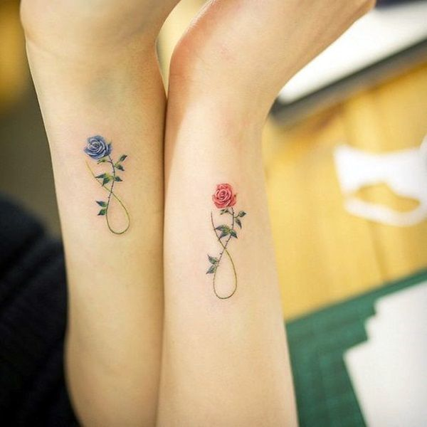 55 Soulful Mother Daughter Tattoos To Feel That Bond #daughter .