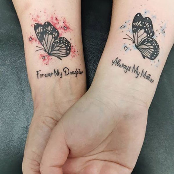 20 Meaningful Mother and Daughter Tattoos - The Trend Spott