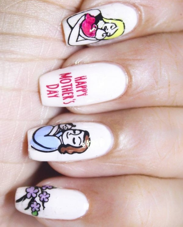 70 Nail Art Ideas For Mother's D