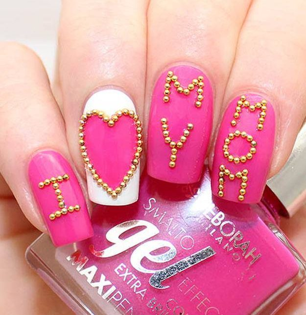 62 Mother's Day Nail Art Designs to Brighten up Your Mama's Day .