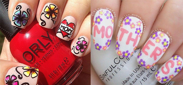 15+ Best Happy Mother's Day Nail Art Designs, Ideas, Trends .