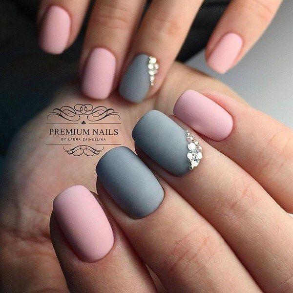 37 Super Easy Nail Design Ideas for Short Nails | Short gel nails .