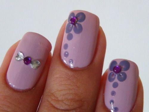 Pin by Mary Lynn Elliott on Nail art | Simple nails, Nail designs .