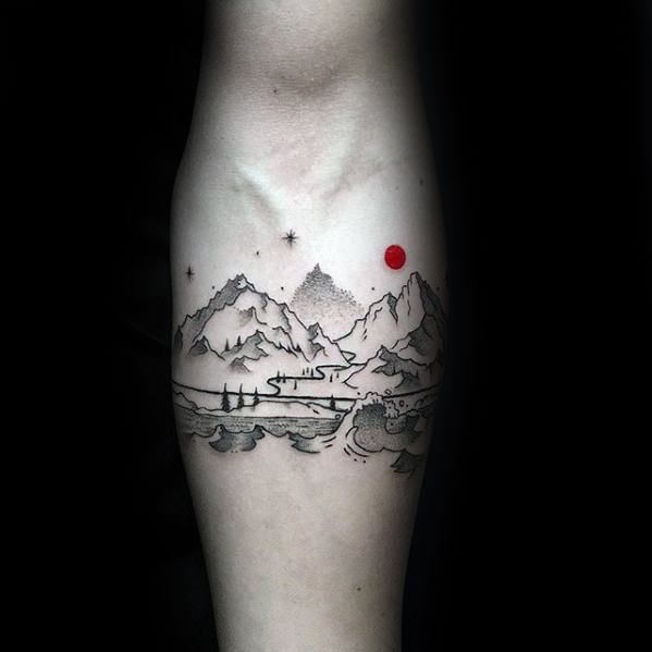Top 43 Best Small Nature Tattoos - [2020 Inspiration Guide .