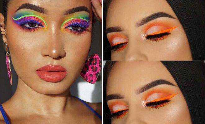 21 Neon Makeup Ideas to Try This Summer | StayGl