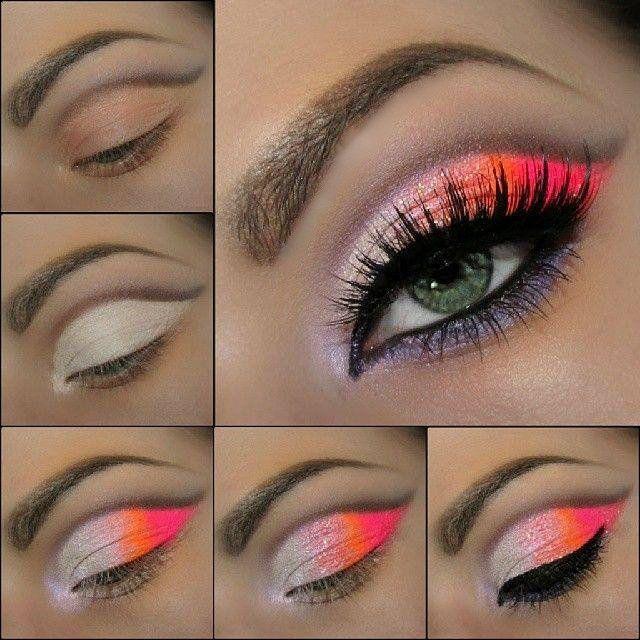17 Fabulous Neon Eye Makeup Ideas for Women 2014 - Pretty Designs .