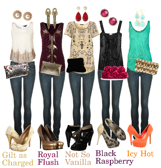 Dressy Jean Outfits for Women   15 Last Minute New Year's Eve .