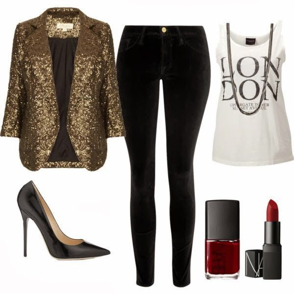 MaKa Style: NEW YEAR's EVE Glitter Glam   New years eve outfits .