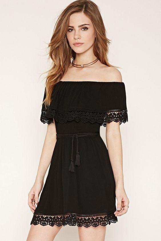 80+ Summer Time For Off Shoulder Dresses Ideas 3   Off shoulder .